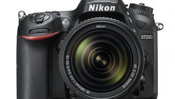 The Nikon D7200 DX-Format DSLR