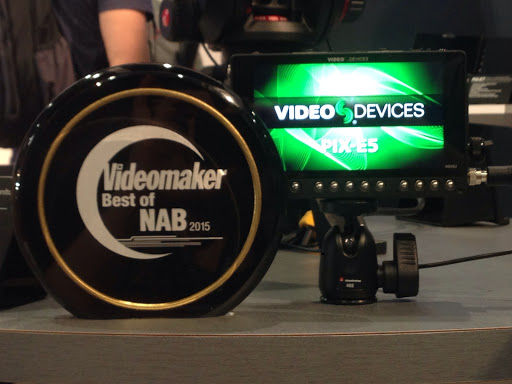 small monitor and award