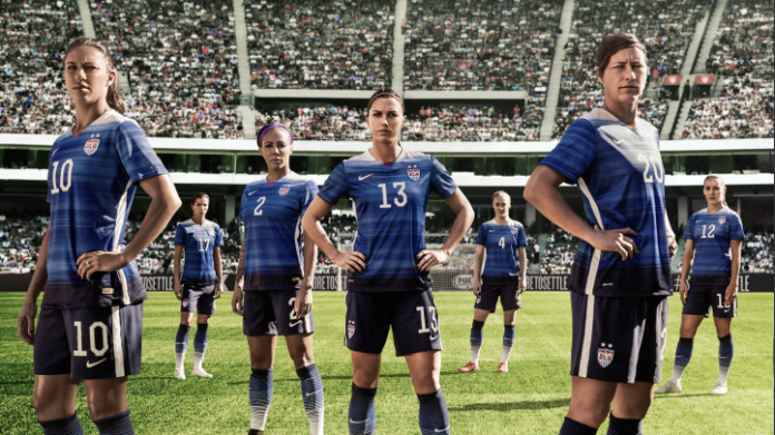 US Women's Soccer Team/photo credit Fox Sports
