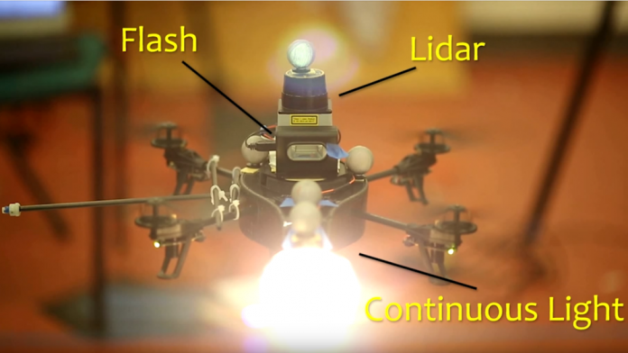 A drone might be your next gaffer