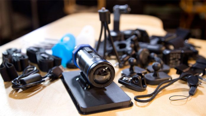 action camera and accessories