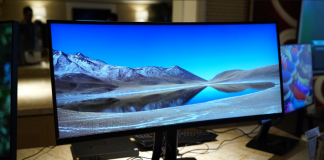 ViewSonic VP3881 on display at CES
