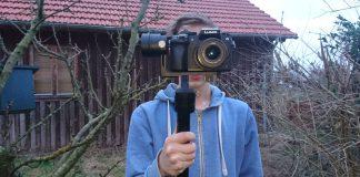 Jannik in the field