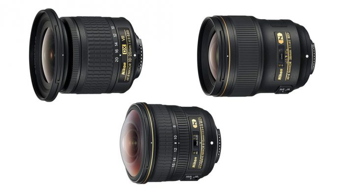 Nikon has just revealed three new wide-angle NIKKOR lenses to their lens lineup
