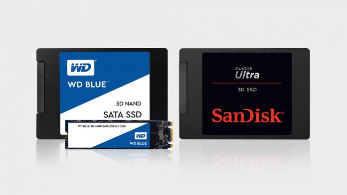 WD Blue 3D NAND SATA SSD and SanDisk Ultra 3D SSD