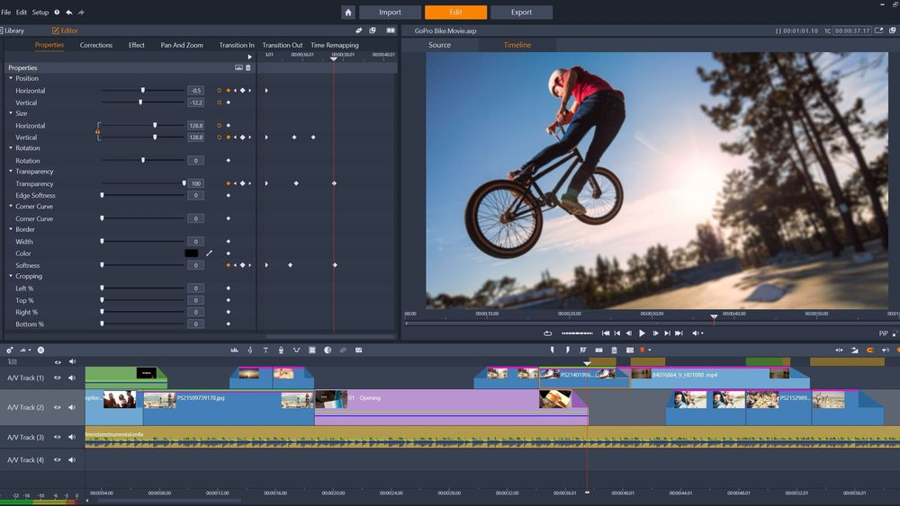 Pinnacle Studio 21 Ultimate Adds New Editing Tools and a