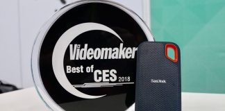 SanDisk Extreme Portable SSD, which garnered our Best Storage of CES 2018 award