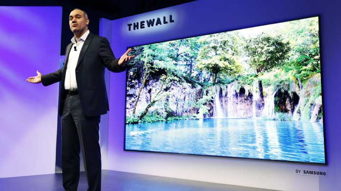 The Wall Modular TV by Samsung