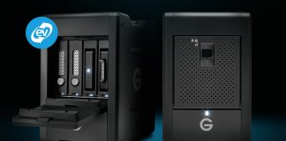 The G-SPEED Shuttle with ev Series Bay Adapters and G-SPEED Shuttle with Thunderbolt 3