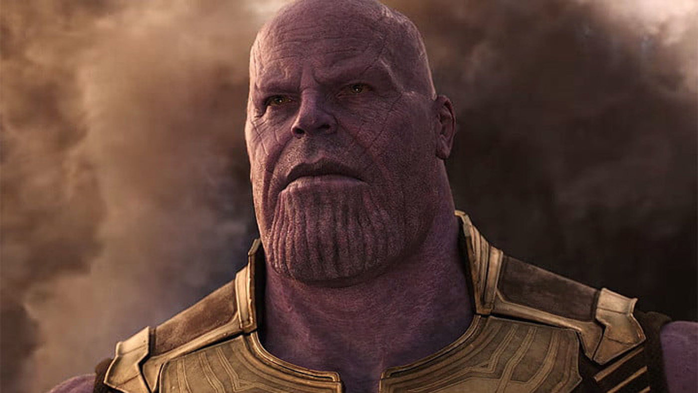 Screenshot of Thanos in Avengers: Infinity War
